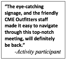 Eye-Catching Design for CME