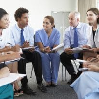 Healthcare Providers Taking CME Course