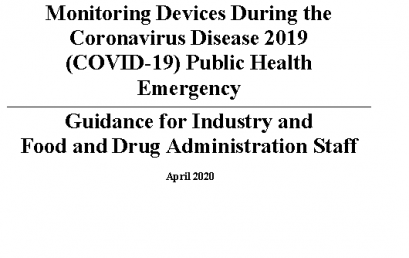 Guidance for Industry and Food and Drug Administration Staff