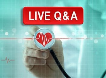 Live Q&A: Keeping the Beat: Screening and Management of High-Risk Patients with Non-Valvular Atrial Fibrillation